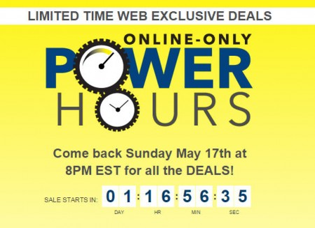Best Buy Power Hours Sale - Online Only (May 17)