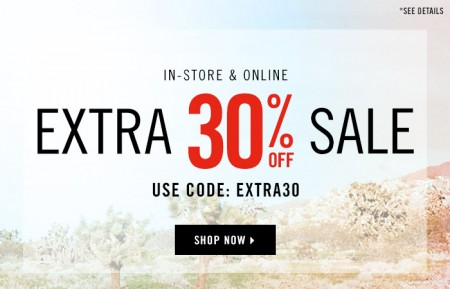 Forever 21 Extra 30 Off Sale Items Promo Code (May 13-18)