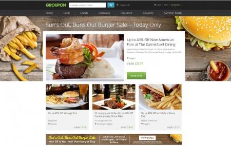 GROUPON National Hamburger Day - Great Burger Deals (May 28)
