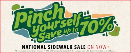 Golf Town National Sidewalk Sale - Save 40-70 Off (May 28-31)