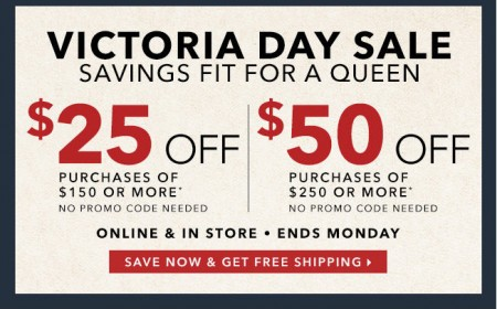 Golf Town Victoria Day Sale - Save up to $50 Off Promo Code (Until May 18)