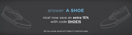 LivingSocial Extra 15 Off Site-Wide Promo Code (Until May 27)