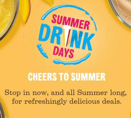McDonald's Summer Drink Days - $1 Any Size Soft Drink