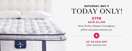 TheBay Flash Sale - 65 Off Pillow Top Mattress Set (May 9)