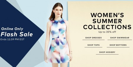 TheBay Flash Sale - Up to 35 Off Women's Summer Collections (May 13)