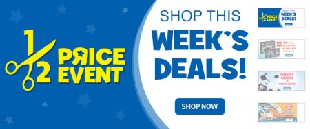 Toys R Us Half Price Deals (May 22-28)