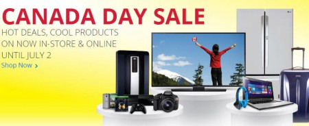 Best Buy Canada Day Sale (June 27 - July 2)