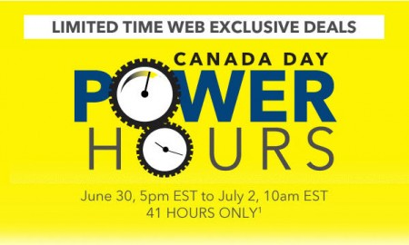 Best Buy Canada Power Hours Sale - Online Only (June 30 - July 1)