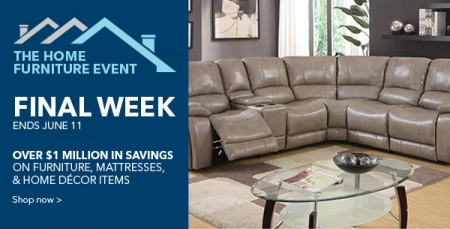 Best Buy Home Furniture Event (Until June 11)