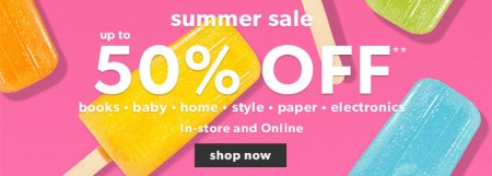 Chapters Indigo Summer Sale - Up to 50 Off