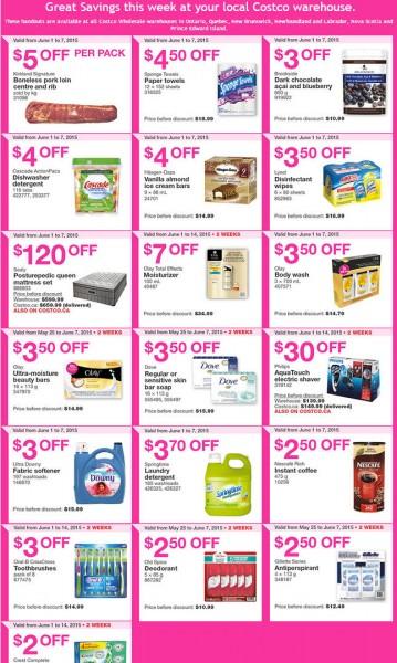 Costco Weekly Handout Instant Savings Coupons East (June 1-7)