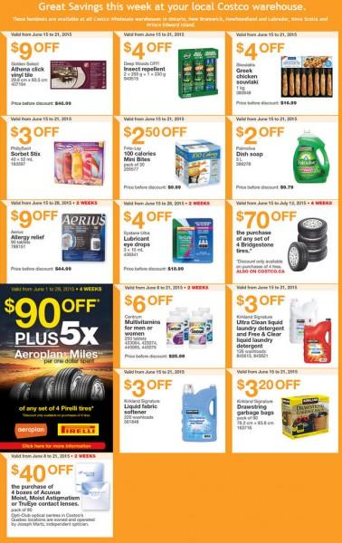 Costco Weekly Handout Instant Savings Coupons East (June 15-21)