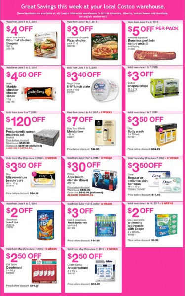 Costco Weekly Handout Instant Savings Coupons West (June 1-7)
