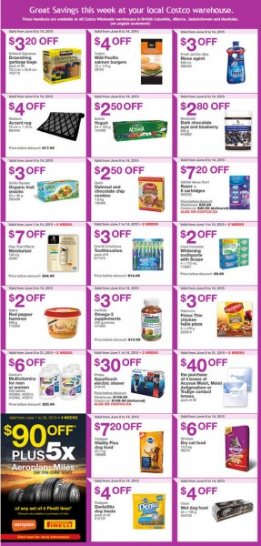 Costco Weekly Handout Instant Savings Coupons West (June 8-14)