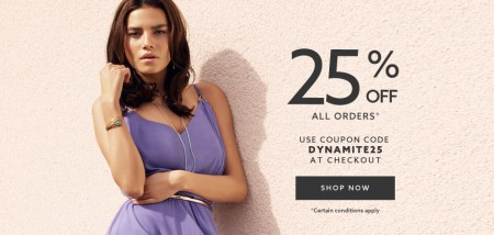 Dynamite Clothing 25 Off Everything Promo Code + Free Shipping All Orders (Until July 2)