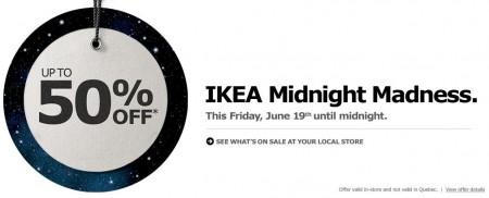 IKEA Midnight Madness Sale (June 19, Until Midnight)