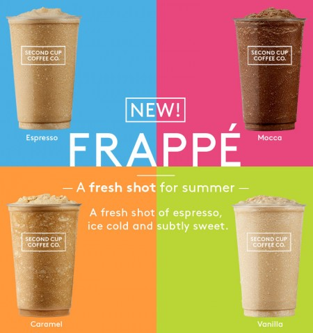 Second Cup FREE Frappe Sample (June 9, 2-4pm)
