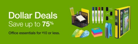 Staples Dollar Deals - Save up to 75 Off Office Essentials (Until June 16)
