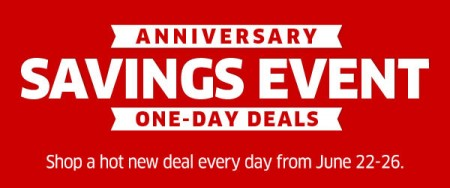 The Source Anniversary Savings Event - One Day Deals (June 22-26)