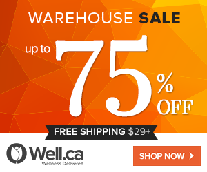 Well Warehouse Sale - Save up to 75 Off