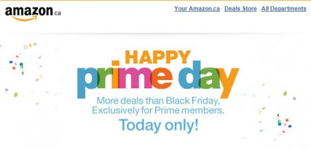 Amazon Happy Prime Day - More Deals than Black Friday (July 15)