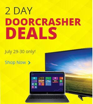 Best Buy 2 Day Doorcrasher Deals (July 29-30)