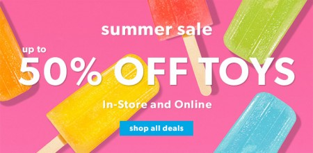 Chapters Indigo Toy Summer Sale