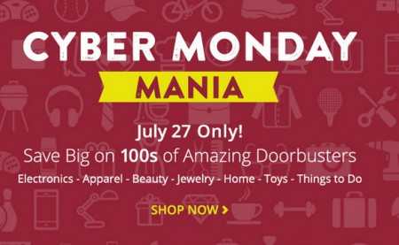 Groupon Cyber Monday in July Sale (July 27)