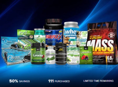 LivingSocial $25 for $50 to Spend on Bars, Protein, and Supplements at SupplementSource (50 Off)