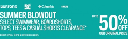 Sport Chek Final Summer Blowout Sale - Save up to 50 Off + Free Shipping (Until Aug 8)