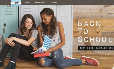 TOMS Back to School Sale - Save up to $20 Off + Free Shipping (Until Aug 2)