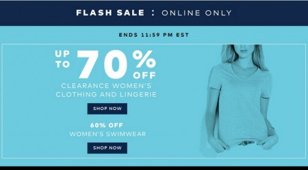 TheBay Flash Sale - Up to 70 Off Women's Clearance Clothing and Lingerie (July 13)