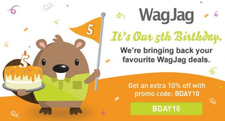 WagJag Extra 10 Off Site-Wide Promo Code (July 17-20)