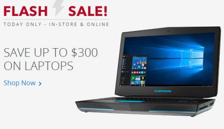 Best Buy Flash Sale - Save up to $300 on Laptops (Aug 6)
