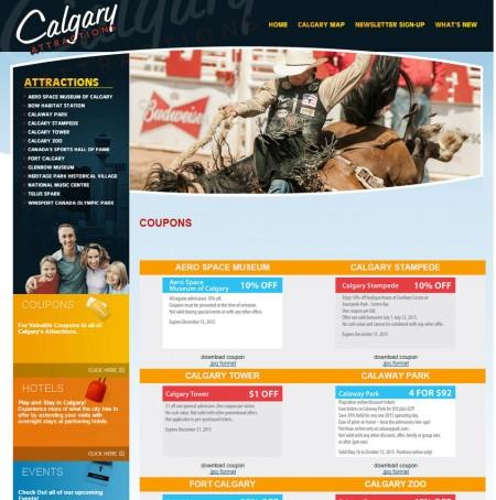 CalgaryAttractions Calgary's Attractions Printable Coupons (Calgary Zoo, Calaway Park, Calgary Tower, Telus Spark)