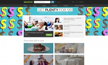 GROUPON Get Plenty for $20 - Select Deals are $20 or Less (Aug 27-28)