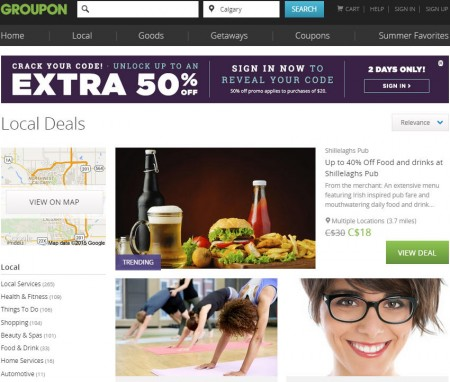 GROUPON Surprise Sale - Unlock up to an Extra 50 Off Promo Code (Aug 24-25)