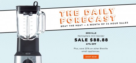 TheBay Today Only - 47 Off Breville Hemisphere Mini-Blender (Aug 7)