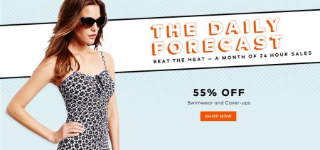 TheBay Today Only - 55 Off Swimwear and Cover-ups (Aug 3)