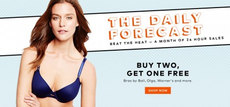 TheBay Today Only - Buy Two Bras, Get One Free (Aug 17)