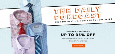 TheBay Today Only - Up to 35 Off Men's Underwear, Socks, Dress Shirts and Ties (Aug 5)