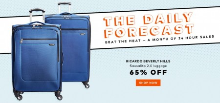 TheBay.com Today Only - 65 Off Ricardo Beverly Hills Luggage (Aug 4)