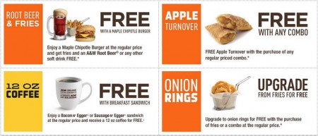 A&W Canada New Printable Coupons + Free Root Beer Coupon (Until Sept 13)