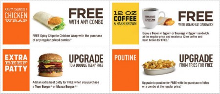 A&W Canada New Printable Coupons + Free Root Beer Coupon (Until Sept 27)