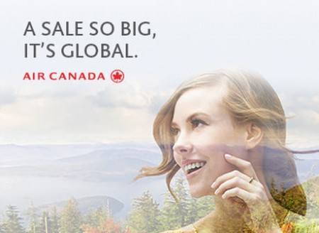 Air Canada Global Seat Sale (Book by Sept 13)