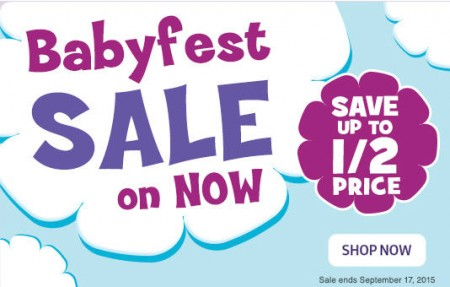 Babies R Us Babyfest Sale (Until Sept 17)