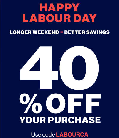 GAP Labour Day Sale - 40 Off Your Purchase Promo Codes (Sept 6-7)