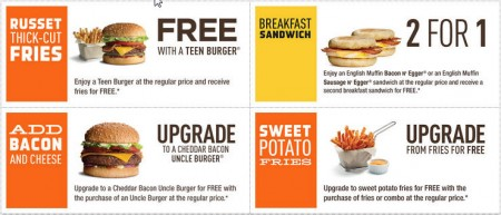 A&W Canada New Printable Coupons + Free Root Beer Coupon (Until Nov 8)