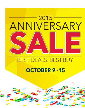Best Buy Anniversary Sale (Oct 9-15)