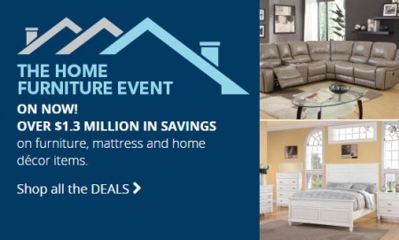 Best Buy Home Furniture Event (Until Oct 22)